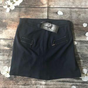 Lauren Vidal Zipper Detail Skirt.